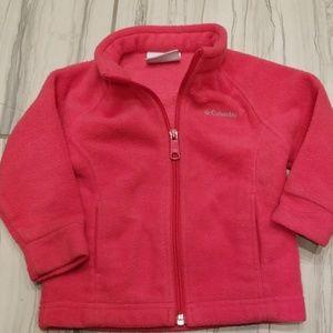 Toddler girl columbia fleece jacket